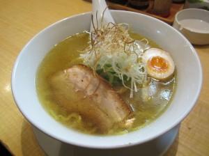 札幌市ススキノ 麺屋 雪風 鶏がら汐ラーメン