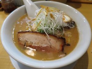 札幌市ススキノ 麺屋 雪風 濃厚味噌ラーメン