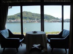 魚信旅館 客室からの眺め