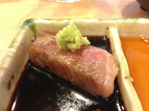 本山葵で食べる上質焼肉