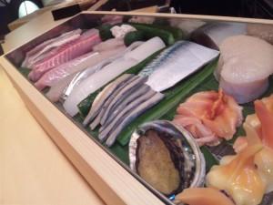 鮨四季の味 しおん 新鮮なネタ