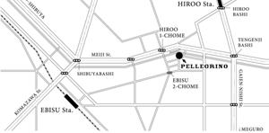 ペレグリーノ地図