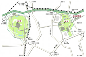 明治神宮周辺地図