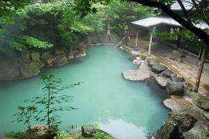 黒川荘露天風呂