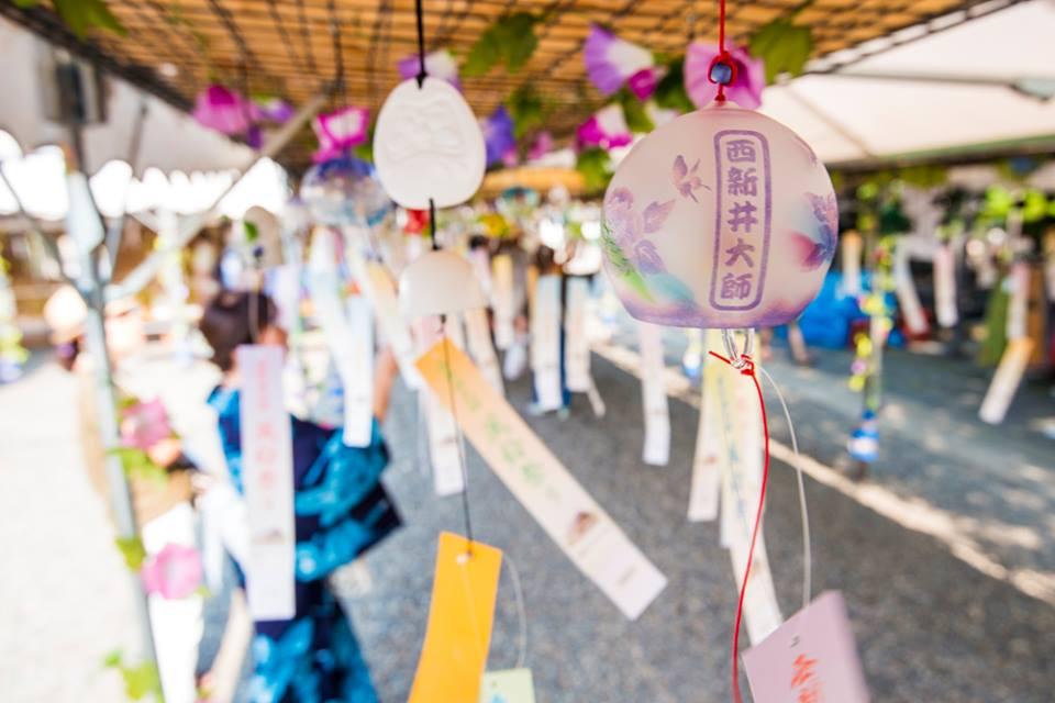 西新井大師 風鈴祭り