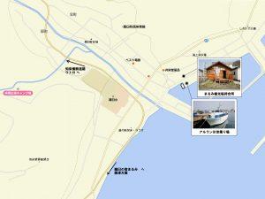 まるみ観光船待合所MAP
