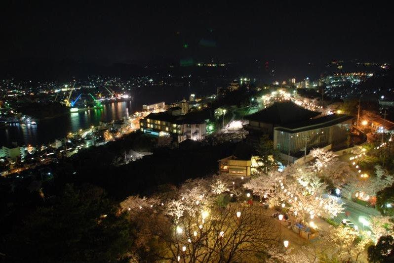 千光寺公園桜